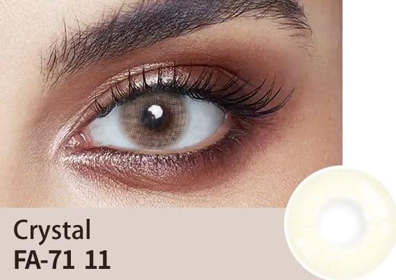 Crystal Colour Lens
