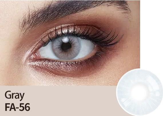 grey colour lens