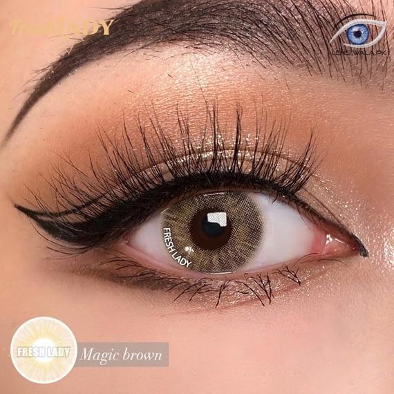 Magic Brown Lens