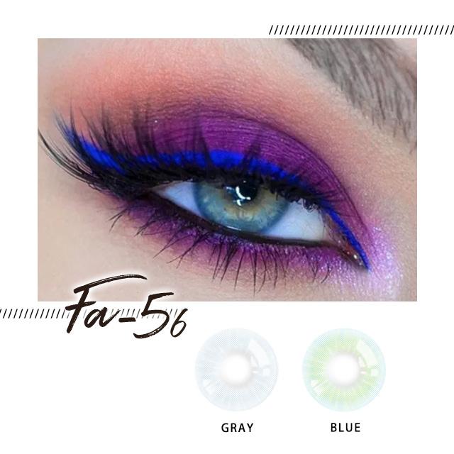 Blue Colour Lens